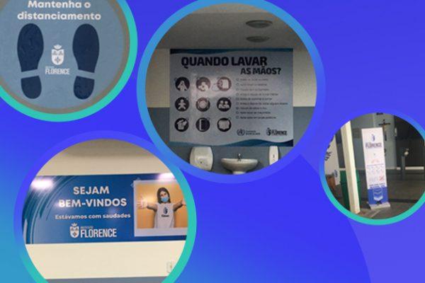 Instituto Florence adota novas medidas de biossegurança na volta às aulas