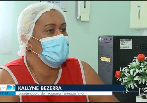 Coordenadora do curso de Farmácia fala sobre a Fitoterapia na TV Mirante