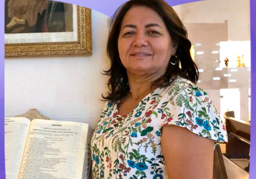 Florence celebra mais uma primavera na vida da profa. Teresa Barbosa Gomes