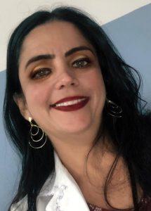 Professora de Enfermagem, Tatiana Siqueira.