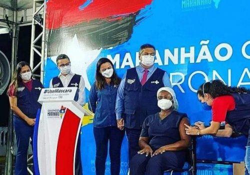Vacinação contra a Covid-19 tem início no MA e esperança se acende para superação da pandemia