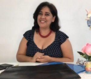 Contadora, professora da Florence e e gestora de negócios Patrícia Sales