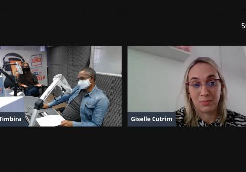 Professora do curso de Medicina Veterinária da Florence participa de programa de rádio