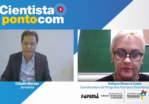 Coordenadora do curso de Farmácia participa da 15ª edição do programa Cientista Pontocom da FAPEMA